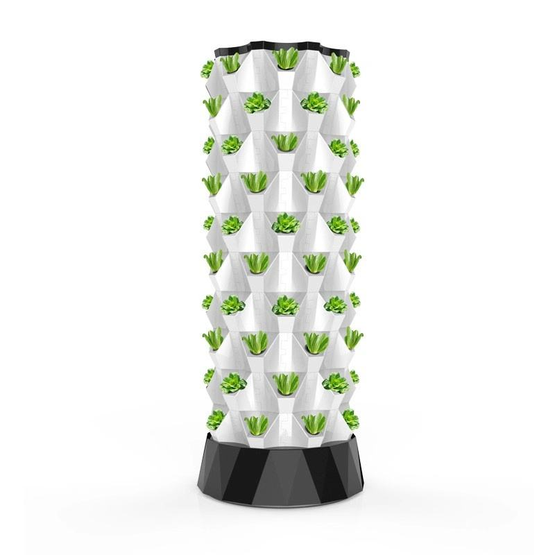 Hydroponics Nft System with 48/64/80 Holes Kits Vertical Hydroponic Growing Systems Plant Vegetable
