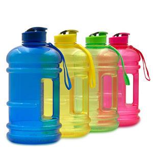 Free Matte Plastic 2L Bottle Mockups