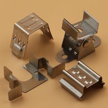 China ISO factory high quality customizable metal stainless steel u clips