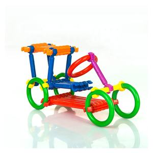 Wholesale Price Educational DIY Smart Construction Toys Building Blocks Stick Model Set
