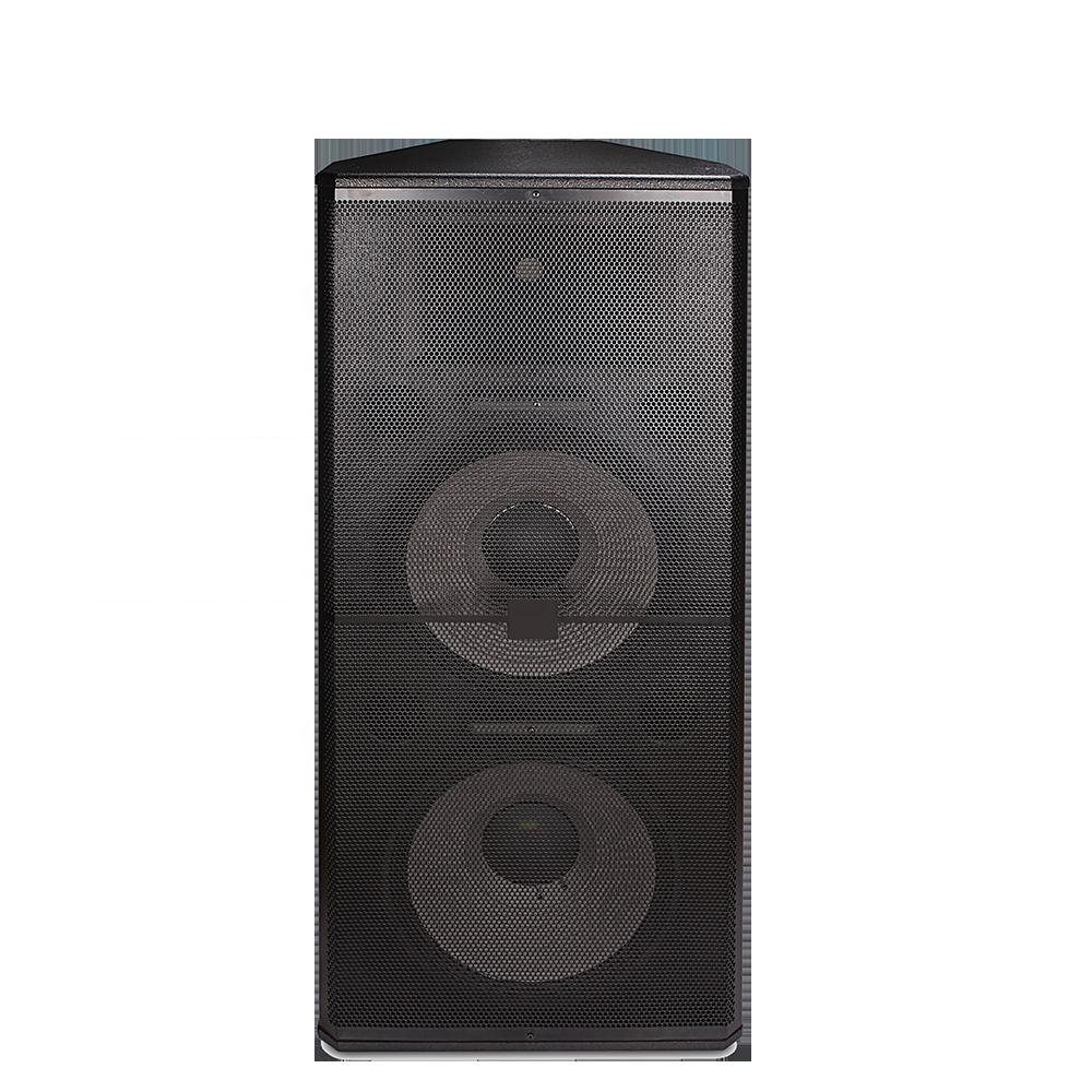 SRX725 dual 15 inch full range speaker 1000w 15 inch professional stage speaker