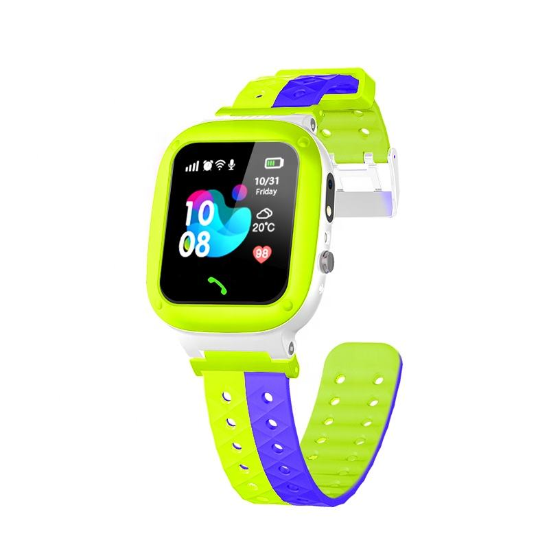 Q18 Factory price OEM kids smart watch phone waterproof mobile accessories baby watch