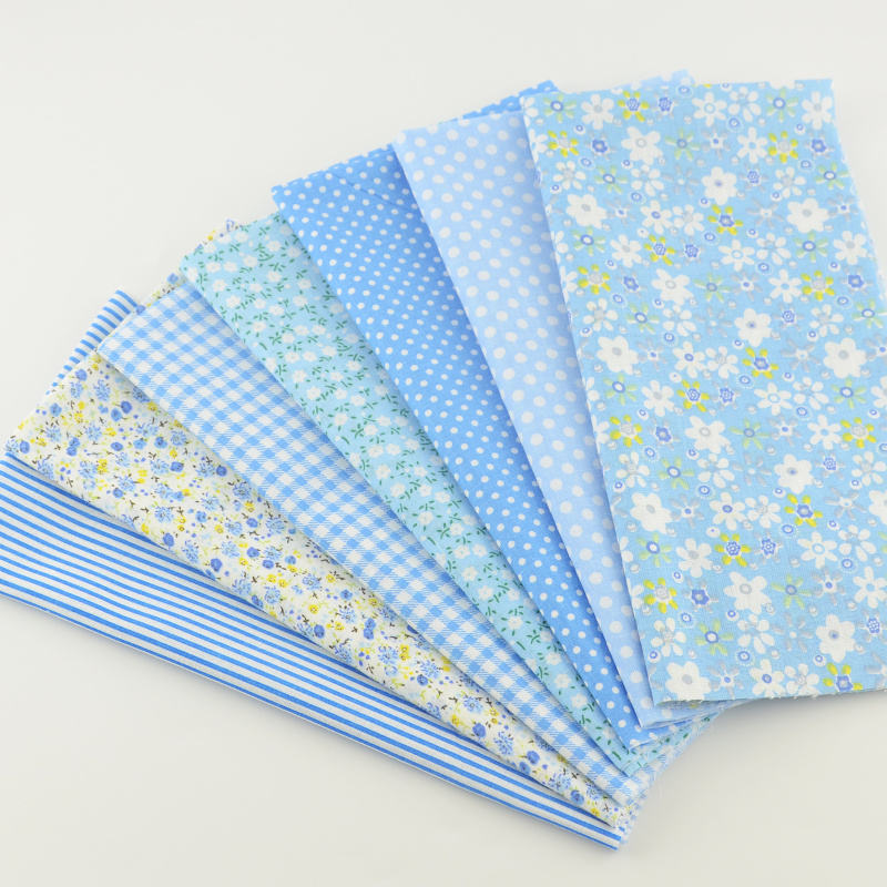 Fat quarter bundles plain cotton cut piece printed fabric for patchwork toys sewing 40*50cm