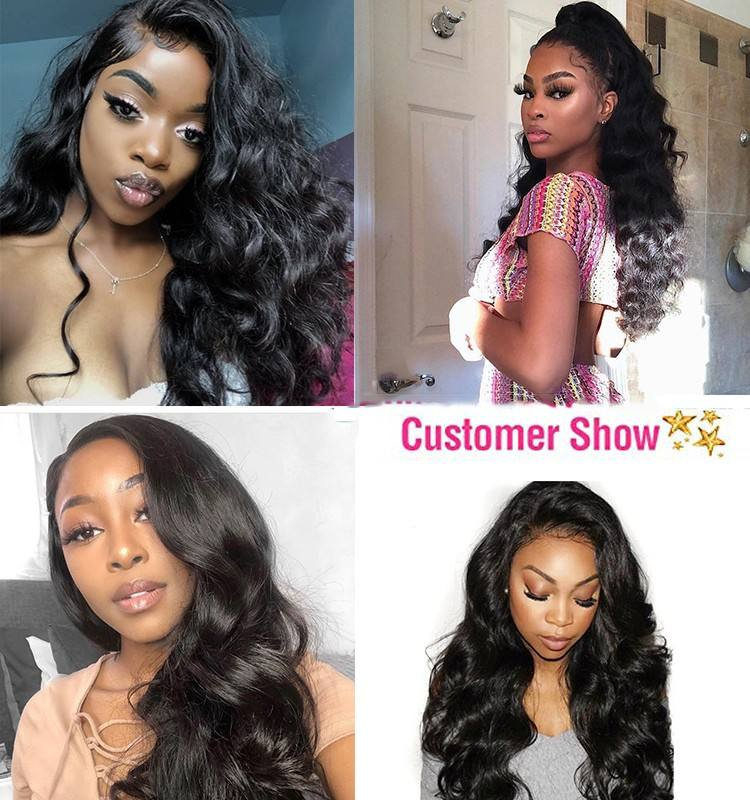 YF Factory Cheap Price 8A 9A Grade Virgin Deep Wave Human Hair Bundles With Lace Frontal Closure