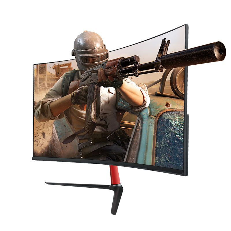 Hot Selling Lcd Led Screen Curved 2MS Monitor IPS 24Inch 75HZ/144HZ Monitor With DP Port