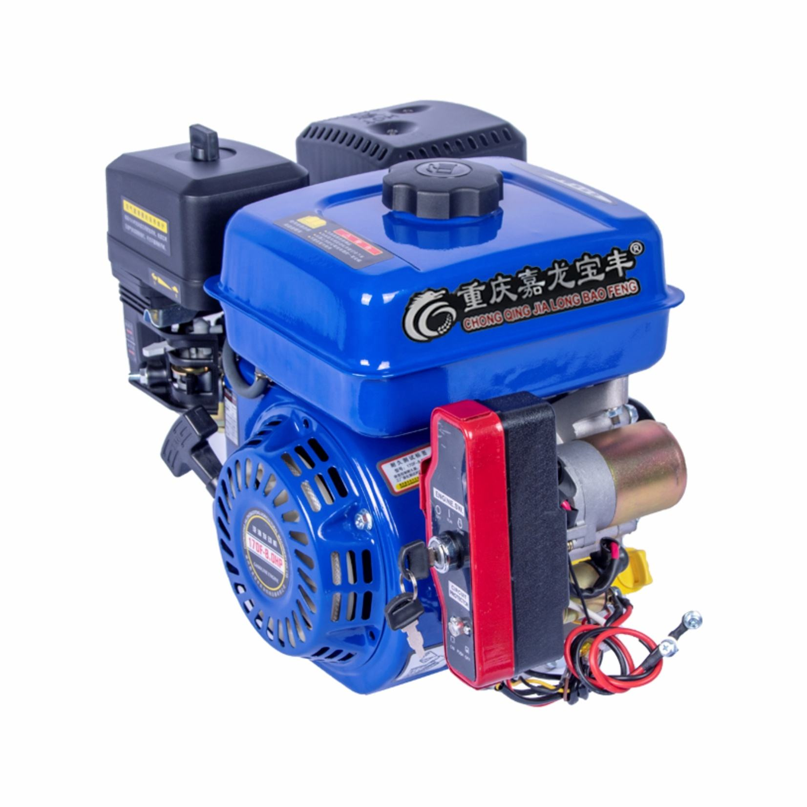196cc 4 Stroke Electric Gasoline Engine 168F