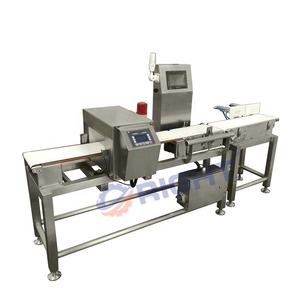Advanced Production Line Food Metal Detector with Rejector