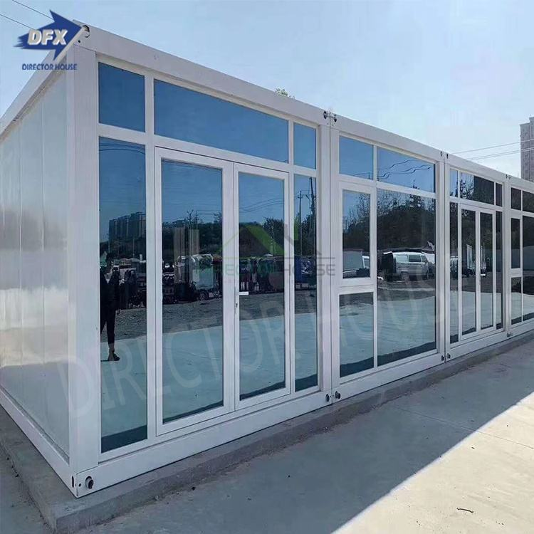 Best selling luxury sandwich panel prefab house and office