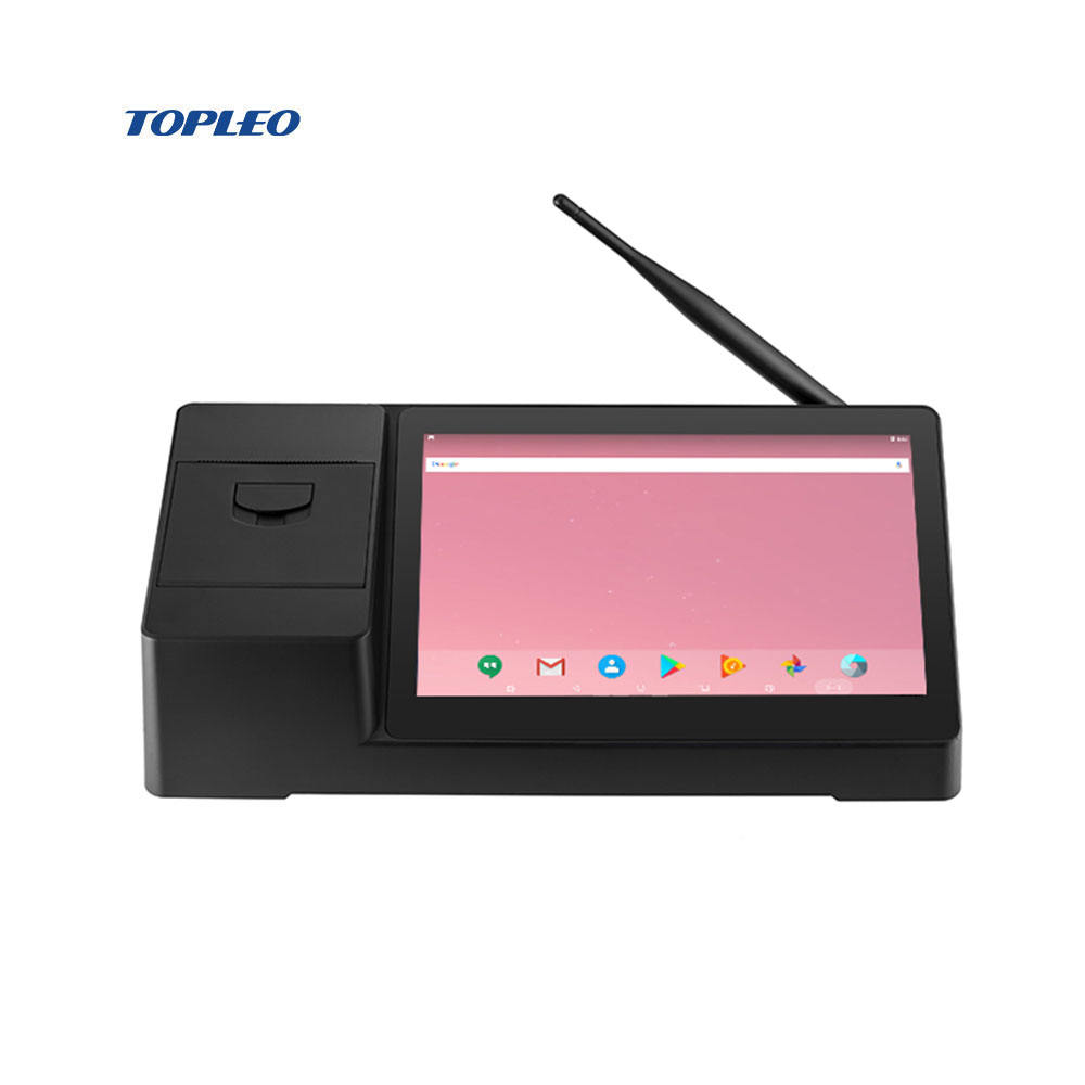 Convient operation smart tablet qr code pos 58 mm terminal printer touch screen monitor android WIN10 os