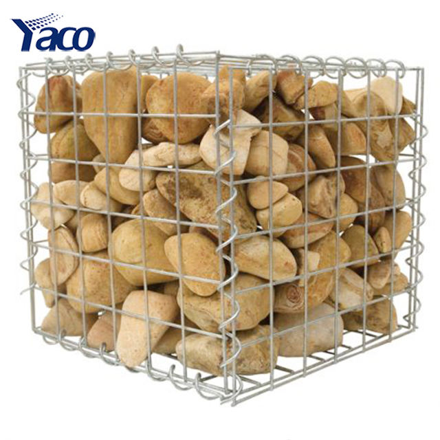 gabion cages 3.5mm 4mm galvanized welded mesh gabion from poland design, hot sale stone gabion