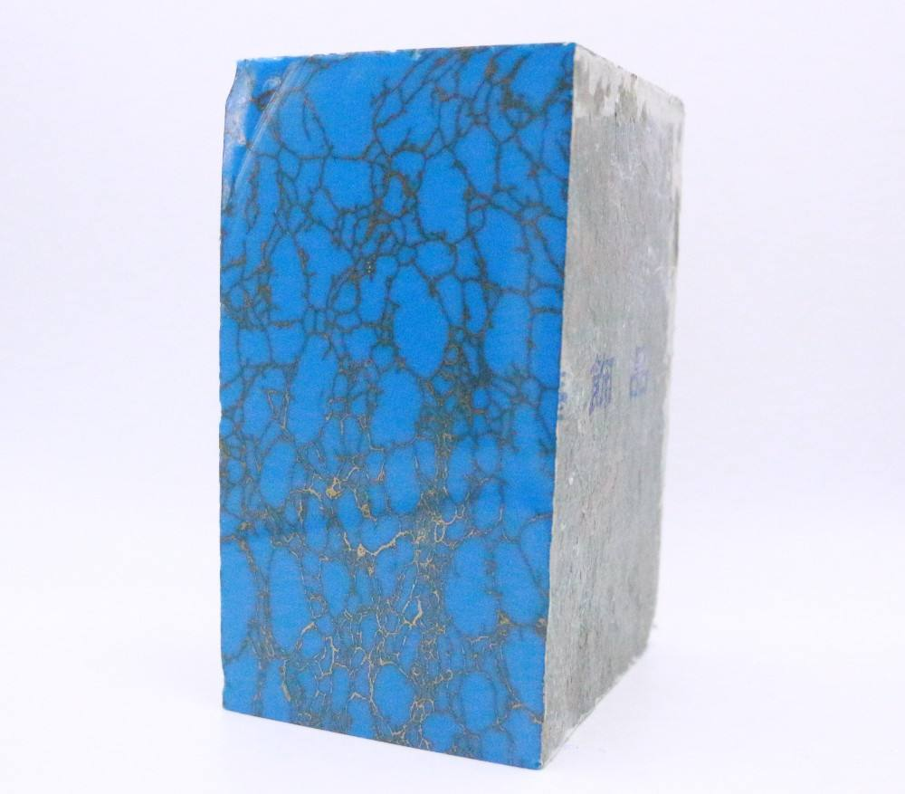 Synthetic high quality artificial stone howlite turquoise for jewelry making
