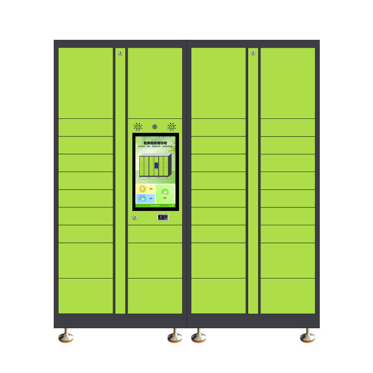 smart locker smart parcel locker Smart Parcel delivery Locker 7*24 working self-service (drop-off and pick-up)