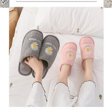2020 new cotton slippers for women in autumn and winter indoor non-slip couples home warm men's slippers wholesale