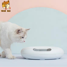 Multifunction Electronic Smart Feeder Pet Dog Material safety 6 Meals Food Dispenser Timed feeder