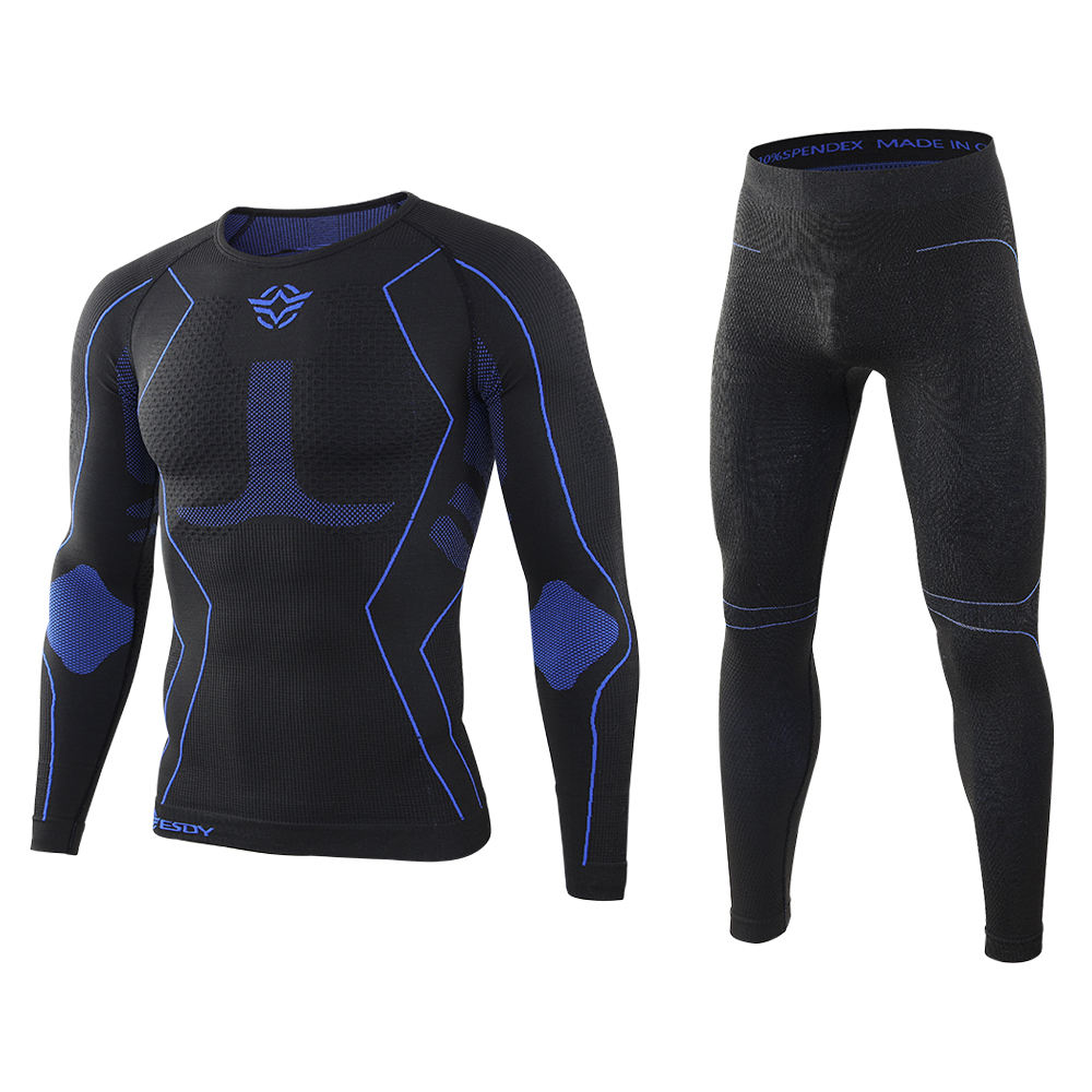 New ESDY Outdoor sports Long Johns seamless compression function thermal underwear set