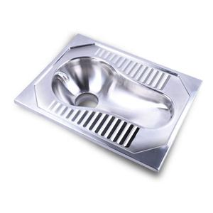 Stainless Steel Jongkok Toilet Pan