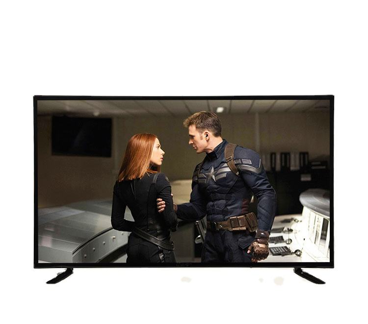 Factory television 40 inch full hd smart tv rechargeable television 32 inch with USB + AV + VGA port