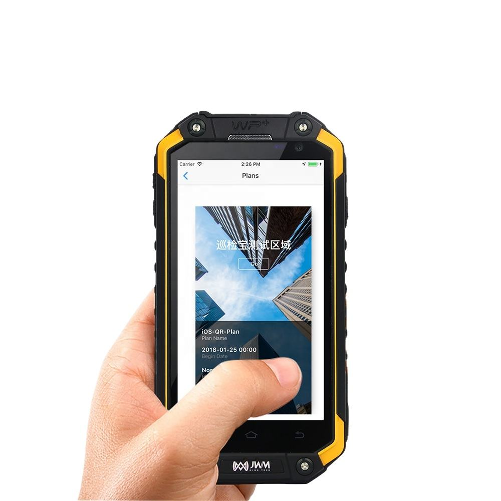 JWM 4G+GPS+RFID+Android+Phone+Camera Guard patrol system Device