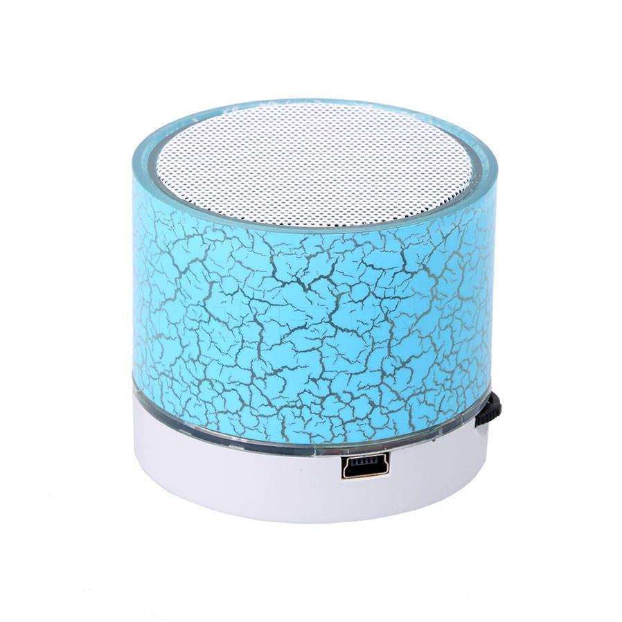 A9 Crack LEVOU TF USB Subwoofer Falante Bluetooth Speaker Mini Sem Fio Alto-falantes bluetooth mp3 playe música de áudio estéreo