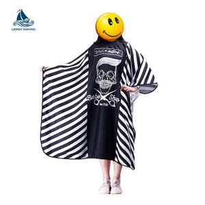 Wholesale custom hairdressing polyester cape salon barber