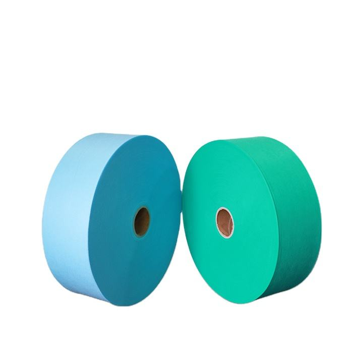 China face mask and gowns non woven supplier polypropylene nonwoven roll fabric raw materials nonwoven fabric