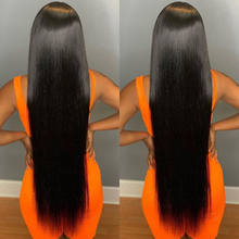 Wholesale long 8-40 inch human hair bundles extensions, cuticle aligned human hair bundles with closure for black  women