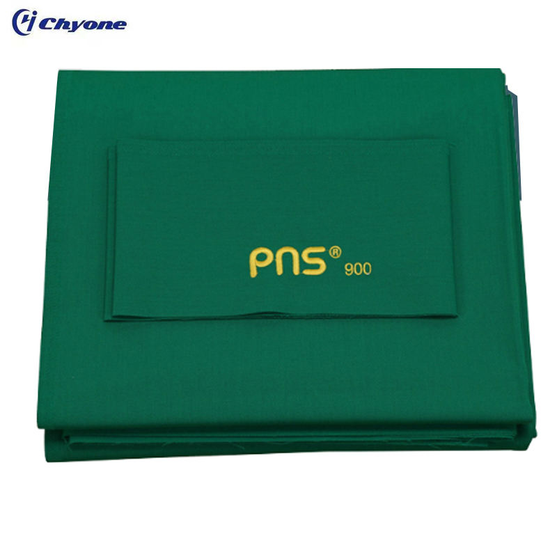 Chyone custom logo PNS 70% wool pool hall use pool table cloth billiard table cloth