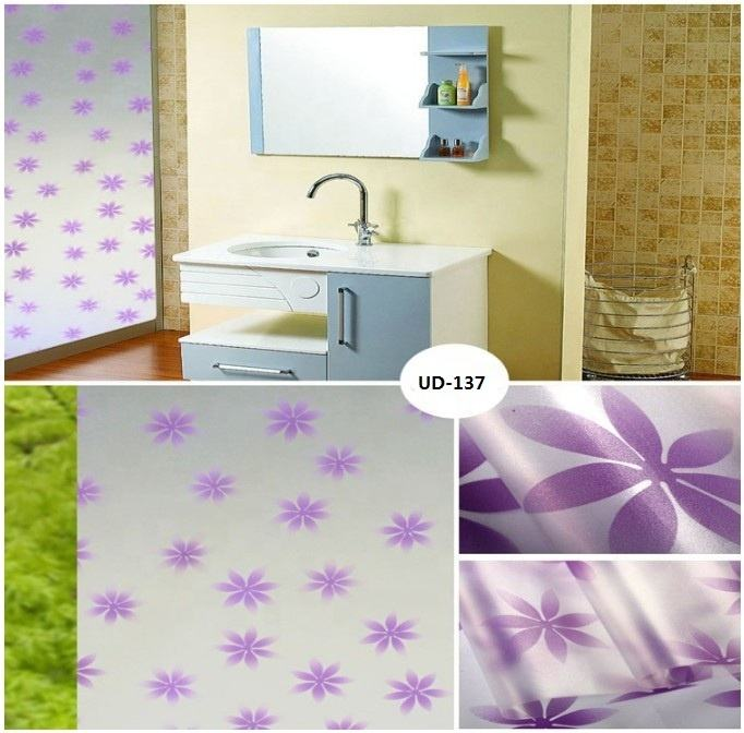 3D film waterproof pvc pet vinyl glass dlitter window decorative stickers for kids furniture