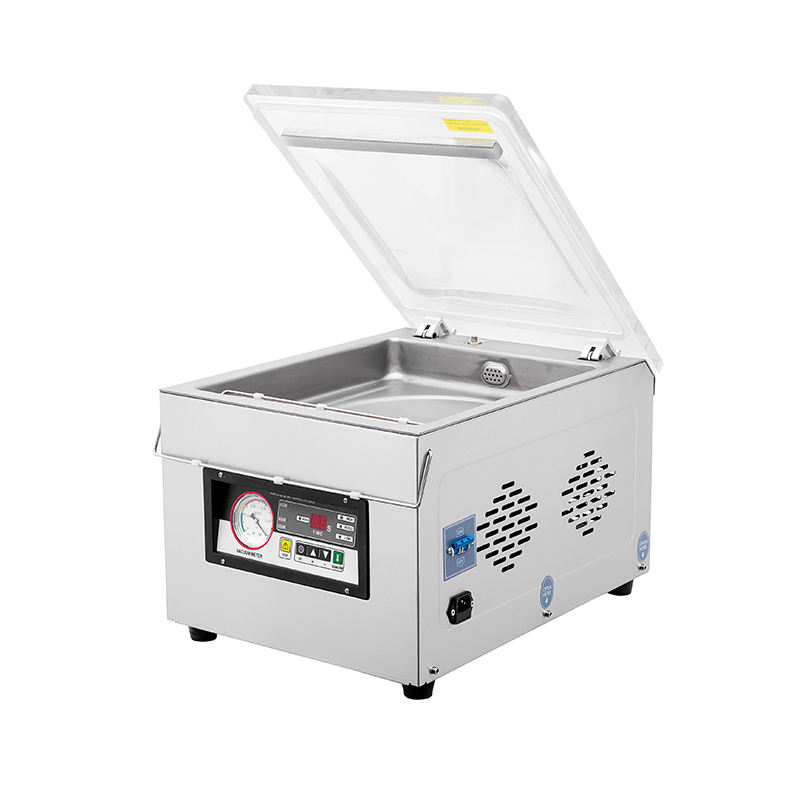 Bespacker DZ-300 Stainless steel body automatic table top economy food vacuum sealer sealing packaging packing machine