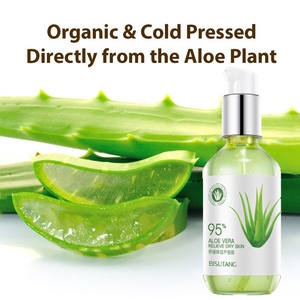OEM Korea SkincareธรรมชาติMoisturizing Soothing Organic 100% Natural Pure Aloe VeraเจลสำหรับFace After Sun Repair