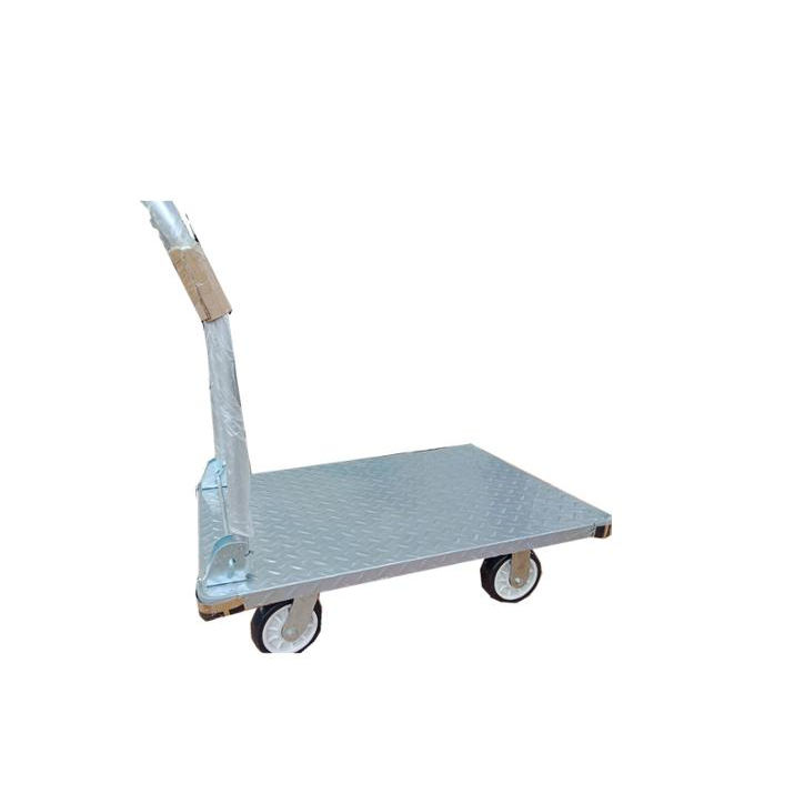 300kg Foldable platform Trolley hand truck Stainless Steel Dolly Mobile table car