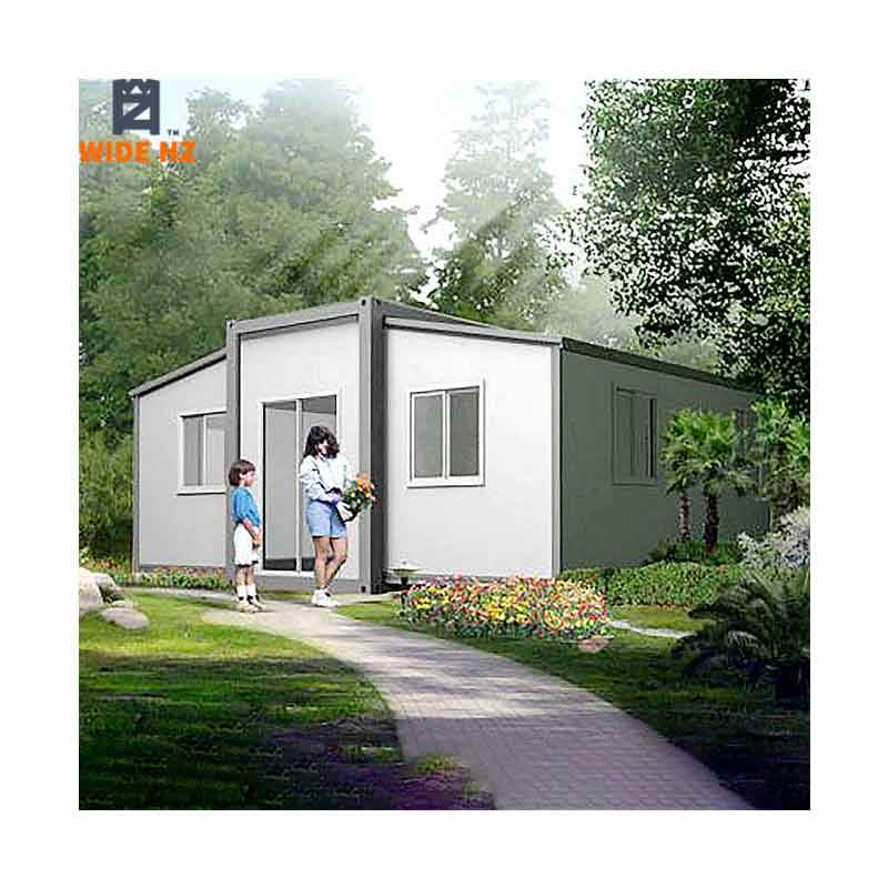Prefab 2 bedroom 3 bedroom modular folding office customized prefabricated luxury living expandable container house
