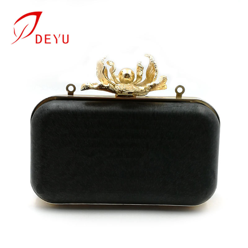 20*12cm high quality box clutch metal purse frame for evening bags 2019