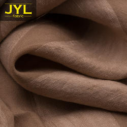 JYL 50% tencel 50% linen fabric GL1061# sample/colors swatch or fabric