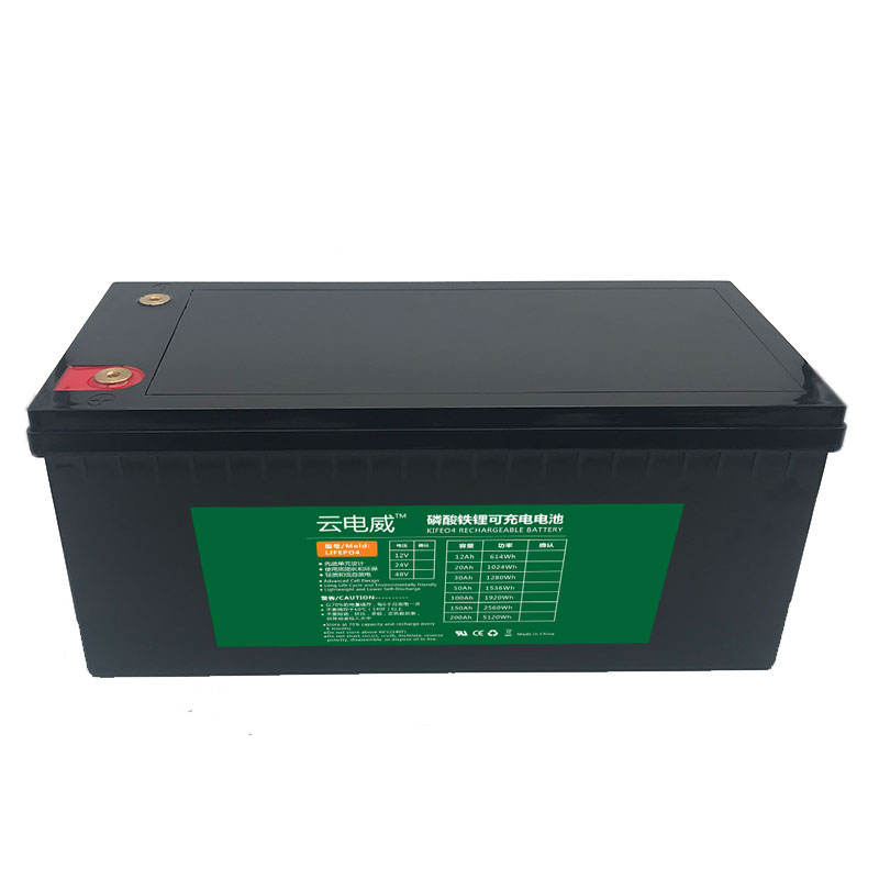 Remplacement 12V 200AH batterie RV/Golf/Solaire/Marine batterie Au Lithium LiFePO4 Batterie
