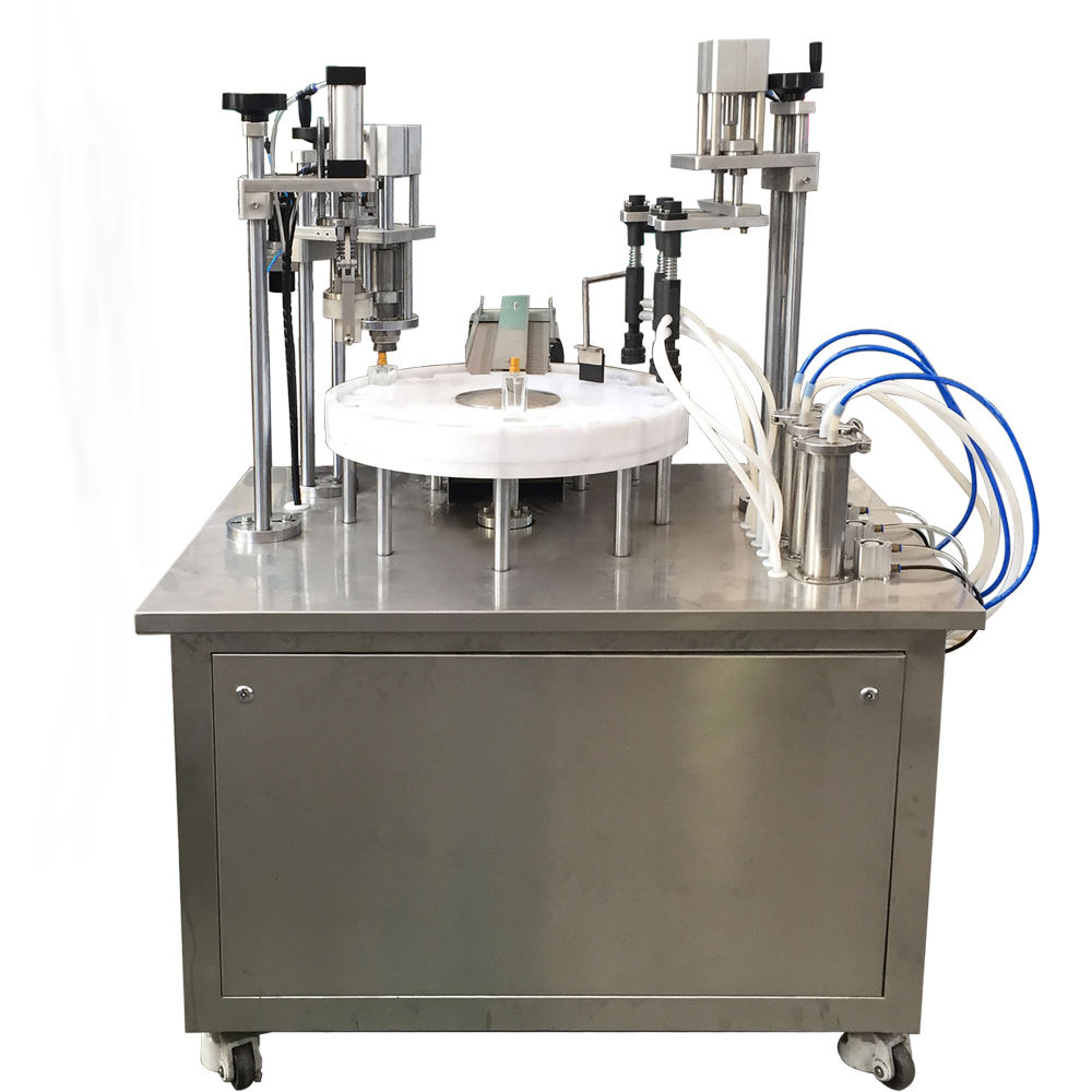 Automatic Low Volume Glass Bottle Liquid Perfume Filling Machine