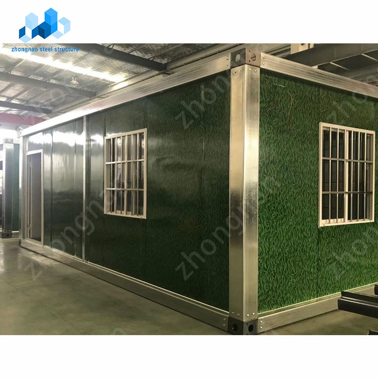 prefabricated foldable 20ft 40ft pop up shipping container bar coffee shop house for sale