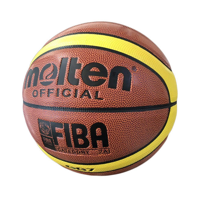 Customize Molten basketball size 7 size 6 size 5 soft touch PU leather indoor outdoor basketball ball