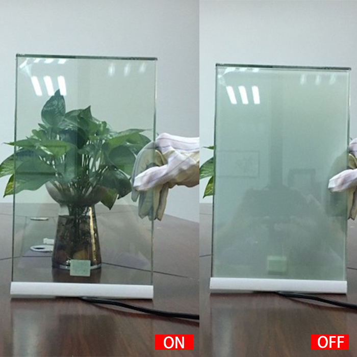 smart film magic glass switchable glass for partition wall residential smart glass