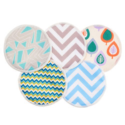 Bounippy Exquisite Craft Washable Reusable Organic Bamboo Breast Pads Nursing