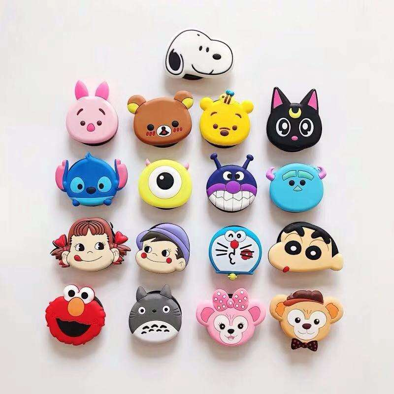 New designed cute cartoon Doraemon PVC Phone Holder