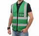 Vest A Vest Wholesale Hot Sale Blue Yellow High Visibility Customized Mesh Reflective Safety Vest Custom Logo
