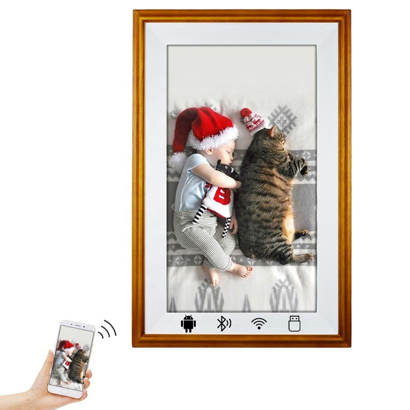 Usingwin 21.5'' Large size full hd 1080P lcd gift digital photo frame to show family photo art painting baby photo