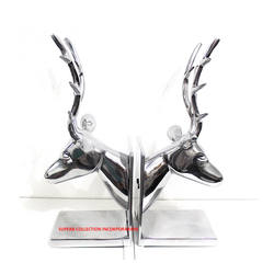 Elegant and fancy Embossed Deer Face Custom Metal Decorative