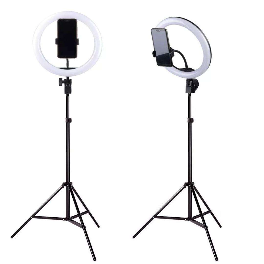 6 8 10 12 14 18 inch Ring Light Tripod Stand Photographic Light Ring Selfie LED Ring Light