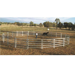 Galvanized Livestock Metal Fence Panels Used Corral Horse Fence Panels
