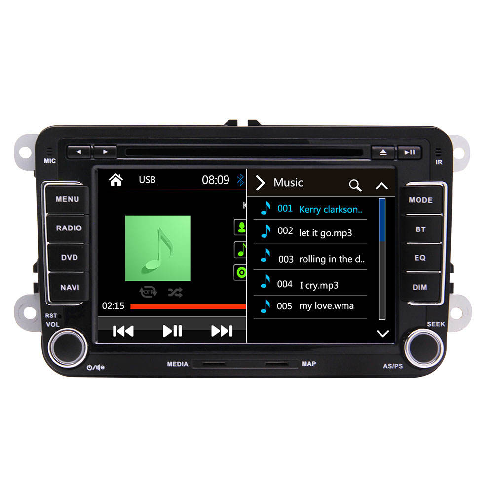 Universal Doppel 2 Din WIN CE 7 inch Touch Screen Auto Dvd Player für <span class=keywords><strong>VW</strong></span> jetta <span class=keywords><strong>passat</strong></span>