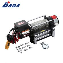 BADA powerful and effective 12V 24V DC 8500 lbs power electric winch motor