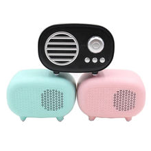 Good price  New outdoor waterproof fm radio car bluetooth portable speaker with tf card