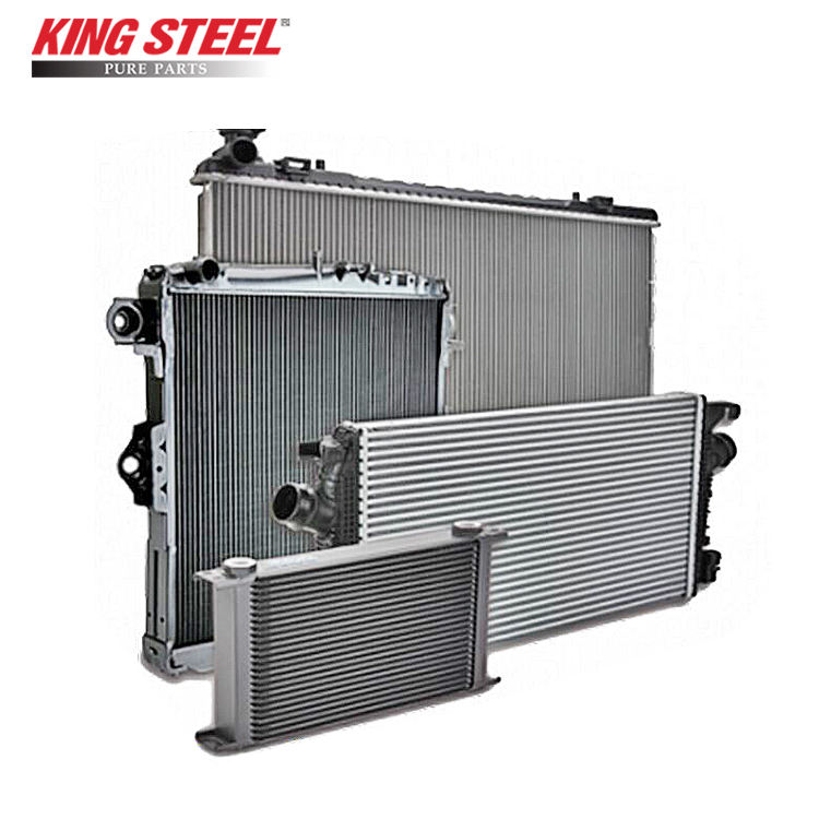 King Steel China Copper Aluminum Car Radiator For Toyota Vios Prado Wish Innova Mitsubishi l200 Hyundai Starex Suzuki Japan Car